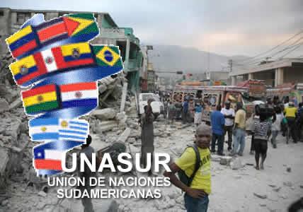 UNASUR en ayuda humanitaria a Haití