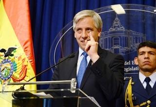 El vicepresidente Álvaro García Linera (Foto:Archivo/ABI)