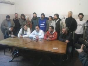 Conferencia de Prensa de la CTA de Oscar De Isasi.