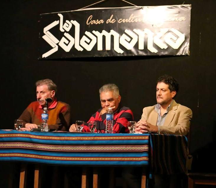 Presentación en Casa de Cultura y Peña La Salamanca.