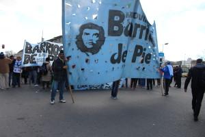 Los Barrios de Pie caminan 48 horas para pedir trabajo a la gobernadora Vidal