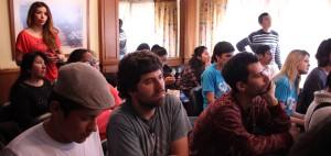 A la conferencia también asistieron referentes sociales y universitarios