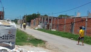 Hernández, el barrio que padece la falta de agua hace semanas.