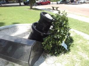 monumento en memoria a Cabezas