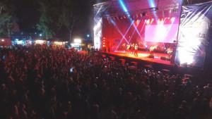 Masiva participación de los platenses en los festejos por los carnavales en la República de los Niños