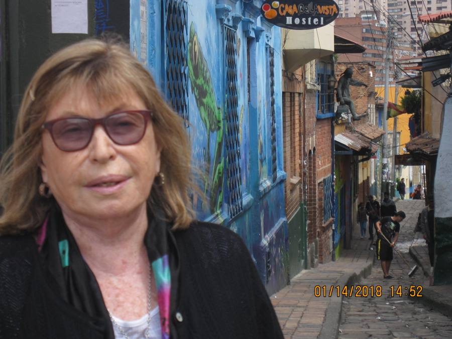 Estela Barrenechea en 2018