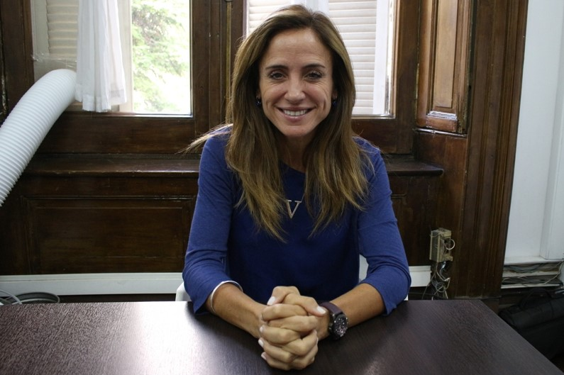 """Victoria Tolosa Paz: """"Puede haber una mujer intendenta porque creemos fundamentalmente en la capacidad nuestra en los tiempos de crisis"""""""