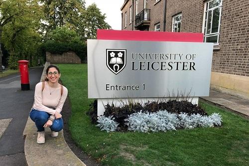 La ingeniera recién llegada a la Universidad de Leicester