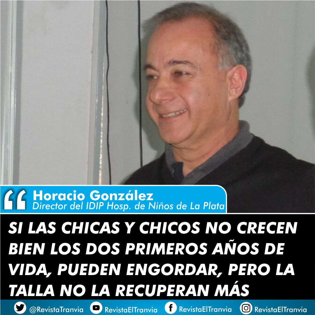 Horacio González...