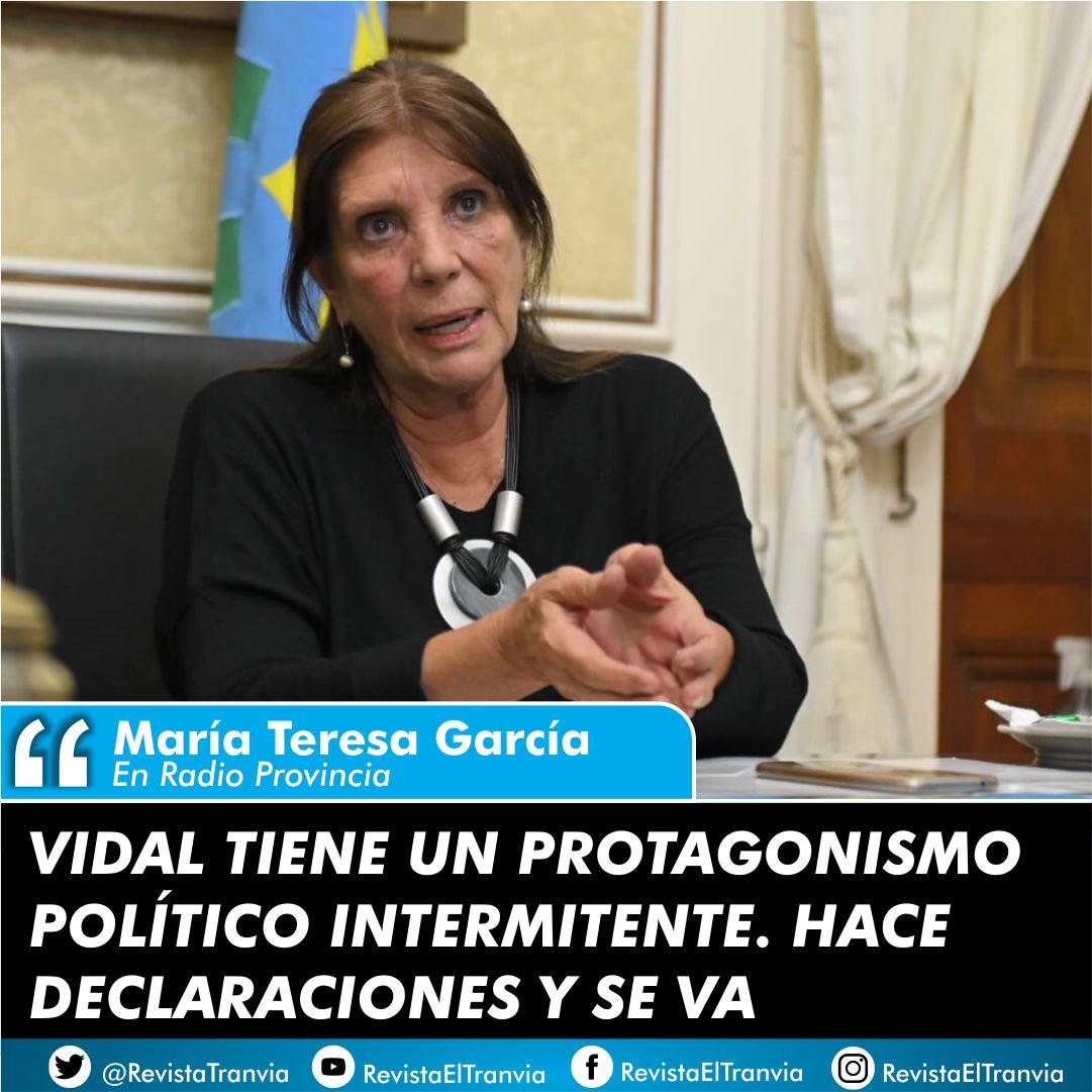 María Teresa García.